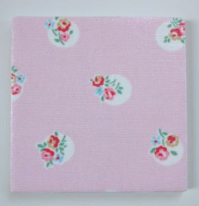 Ceramic Wall Tiles in Cath Kidston Floral Spot Pink 100mm 150mm